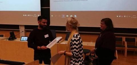 ETMU-tunnustuspalkinto 2017 Right to Live -kollektiiville